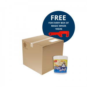 MAGICWHIZK Instant Whipping Cream 1kg x 6