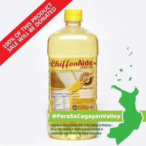 CHIFFONAIDE Cake Oil 1L #ParaSaCagayanValley