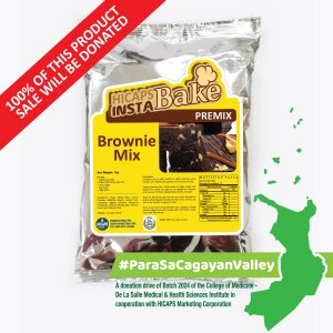 HICAPS INSTABAKE Brownie Mix 1kg #ParaSaCagayanValley