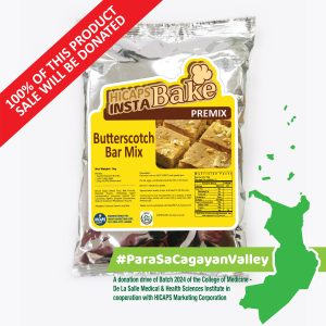 HICAPS INSTABAKE Butterscotch Mix 1kg #ParaSaCagayanValley