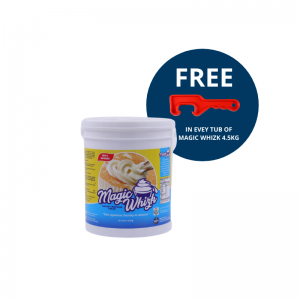 MAGIC WHIZK Instant Whipping Cream Super Tub 4.5Kg